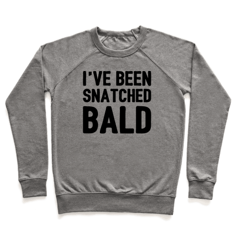 Snatched Bald Pullover
