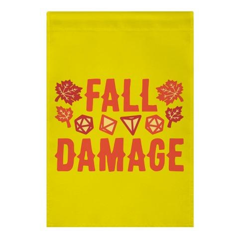 Fall Damage  Garden Flag