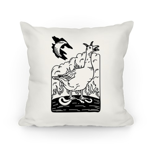 The Devil (Goose Parody) Pillow