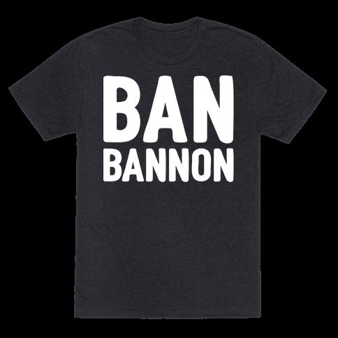 Ban Bannon White Print