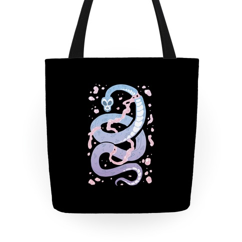 Pastel Goth Snake Tote