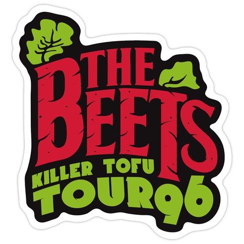 Beets Tour Die Cut Sticker
