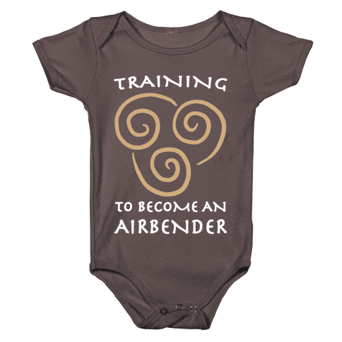 Training to Become An Airbender Baby One-Piece