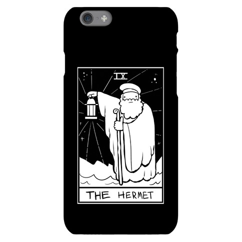 Badly Drawn Tarots: The Hermit Phone Case