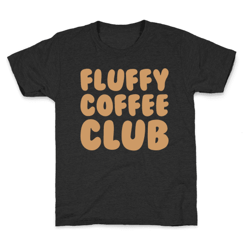Fluffy Coffee Club Kids T-Shirt