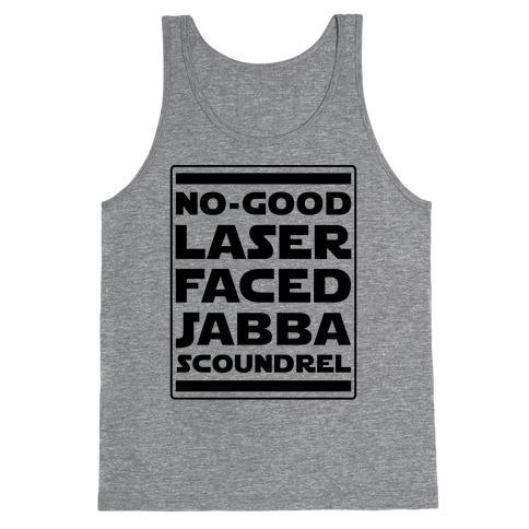 No-GoodLaser Faced Jabba Scoundrel Tank Top