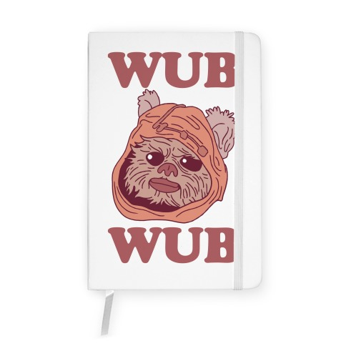 Wub Wub (Ewok) Notebook