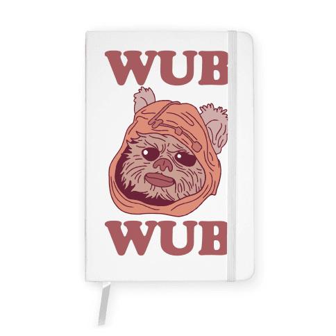 Wub Wub (Ewok) Notebook