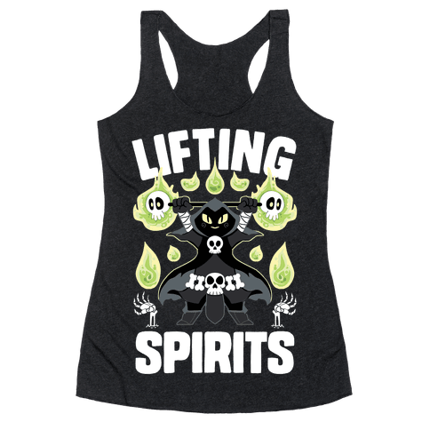 Lifting Spirits Racerback Tank Top