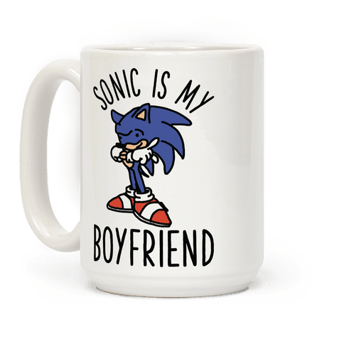 Sonic is my Boyfriend Coffee Mug