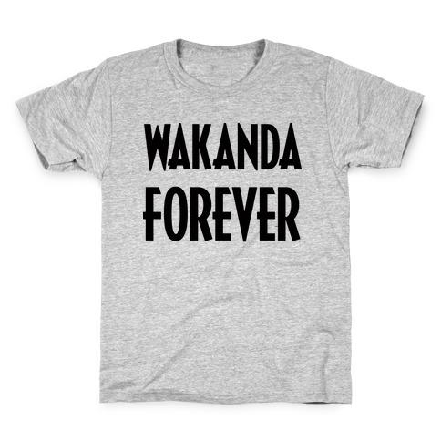 Wakanda Forever Kids T-Shirt