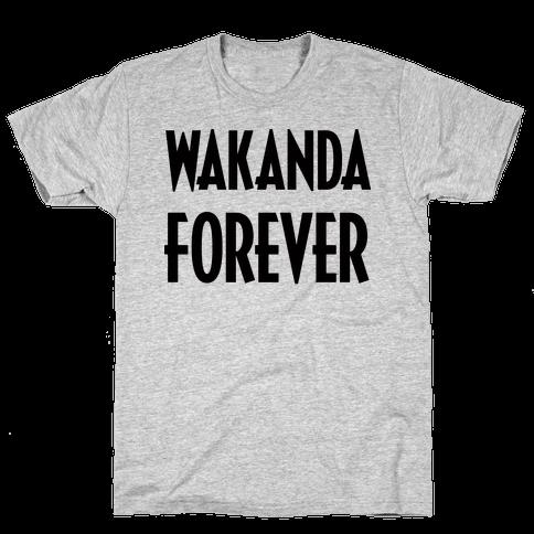 Wakanda Forever Mens T-Shirt