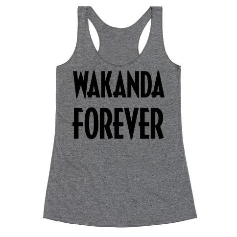 Wakanda Forever Racerback Tank Top