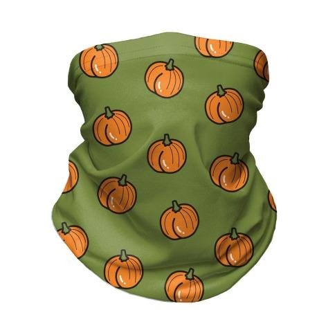 Pumpkin Butt Pattern Neck Gaiter