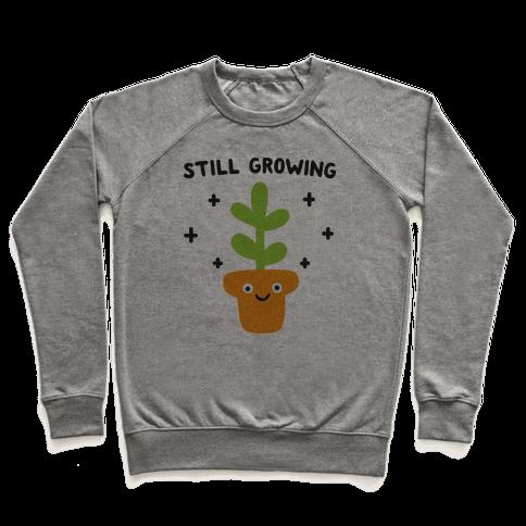 Still Growing Plant Pullover