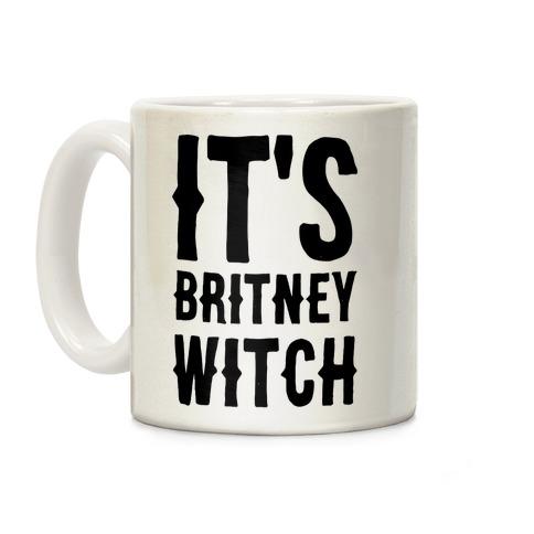 It's Britney, Witch Coffee Mug
