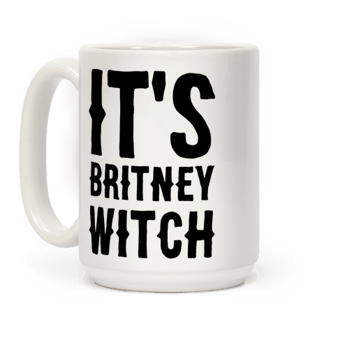 It's Britney, Witch Coffee Mug