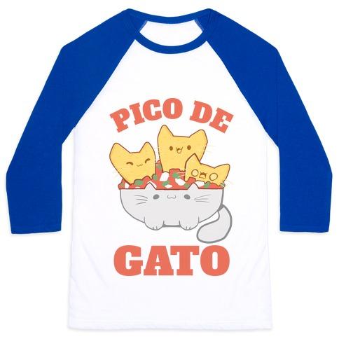 Pico De Gato Baseball Tee