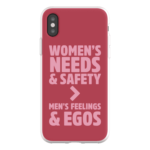 Women's Needs and Safety Phone Flexi-Case