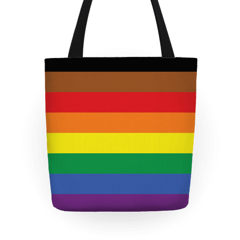Gay Pride Flag Tote