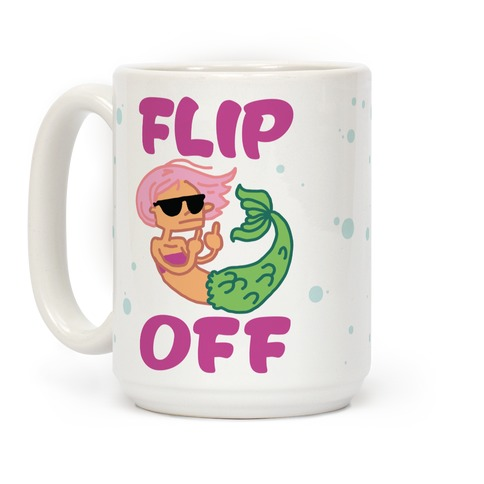 Flip Off Coffee Mug