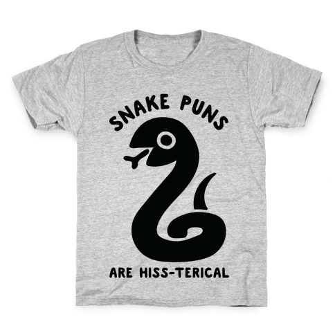 Snake Jokes Are Hiss-terical Kids T-Shirt