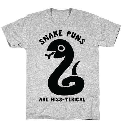 Snake Jokes Are Hiss-terical T-Shirt