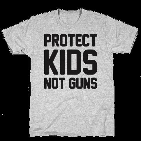 Protect Kids Not Guns Mens T-Shirt