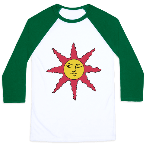 Solaire of Astora Cosplay Baseball Tee