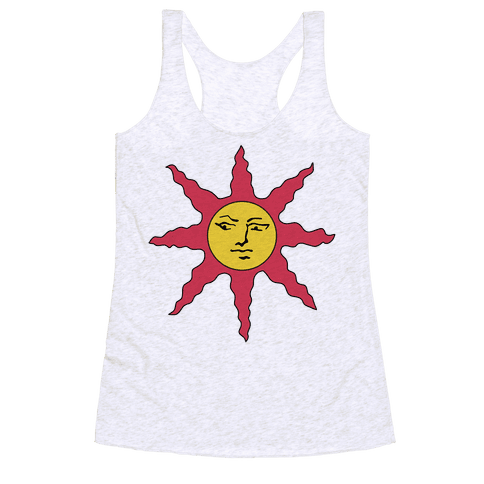 Solaire of Astora Cosplay Racerback Tank Top