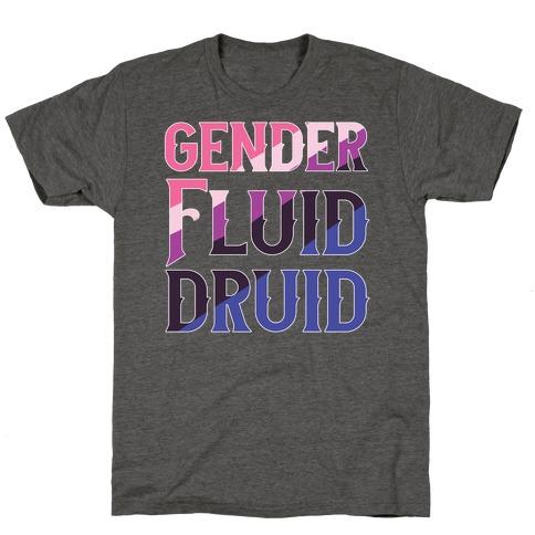 Genderfluid Druid T-Shirt