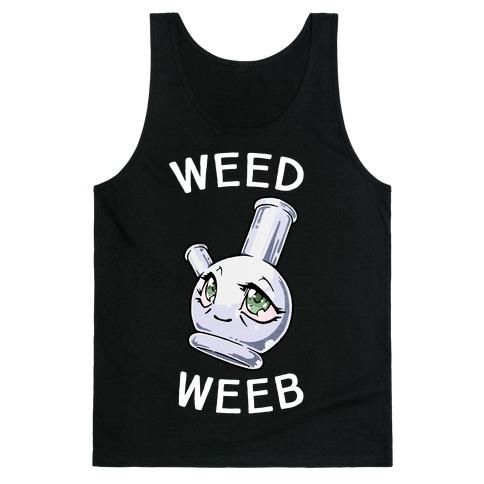 Weed Weeb Tank Top