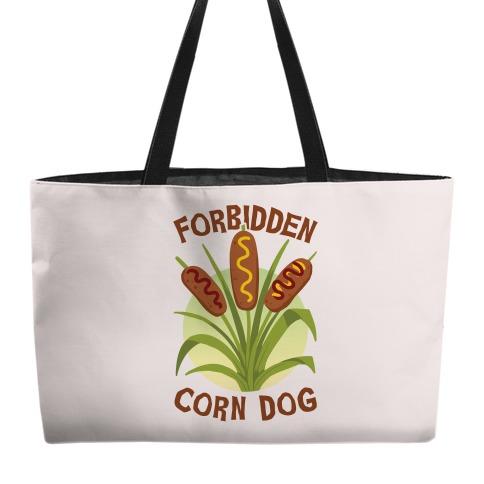 Forbidden Corndog Weekender Tote