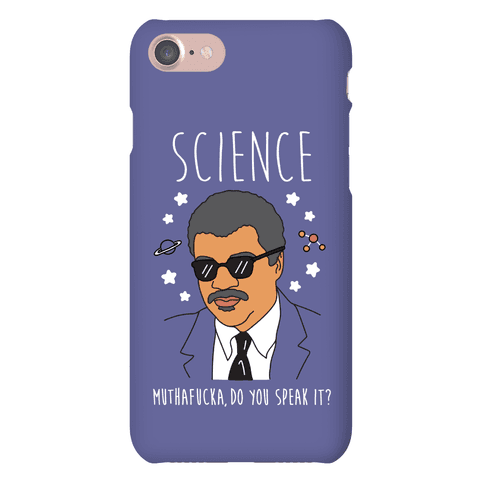 Science MuthaF***a Do You Speak It? Phone Case