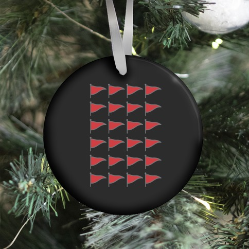 Red Flags Ornament