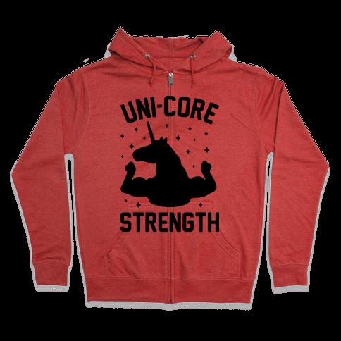 Uni-Core Strength Zip Hoodie