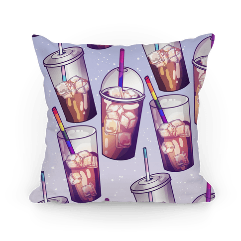 Iced Coffee is So Gay Pillow