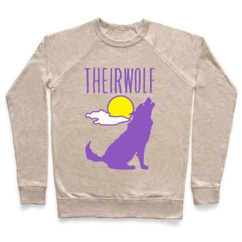Their-Wolf Non-Binary Werewolf Parody Pullover