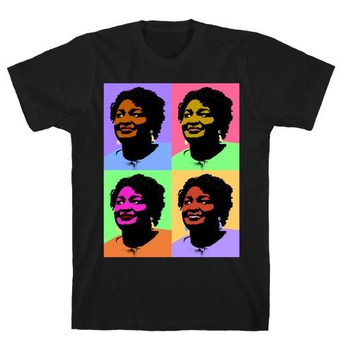 Pop Art Stacy Abrams T-Shirt