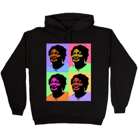 Pop Art Stacy Abrams Hooded Sweatshirt