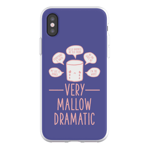 Very Mallow Dramatic Phone Flexi-Case