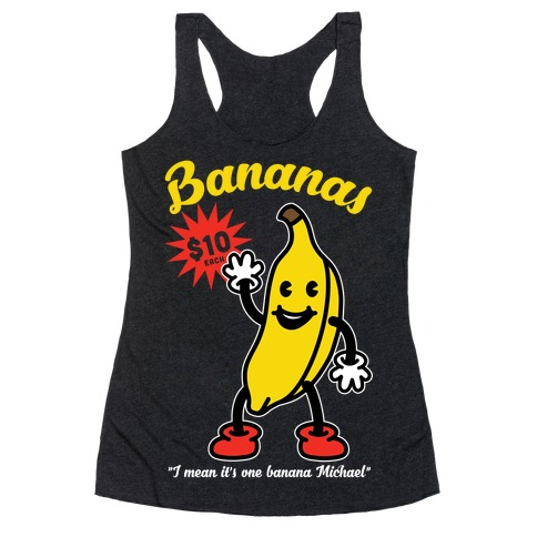 10 Dollar Banana Racerback Tank Top
