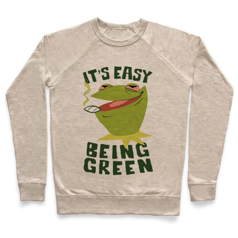 It's Easy Being Green Pullover