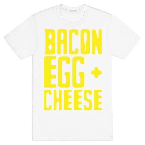 Bacon Egg + Cheese BOP Parody T-Shirt