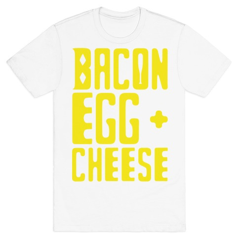 Bacon Egg + Cheese BOP Parody T-Shirt