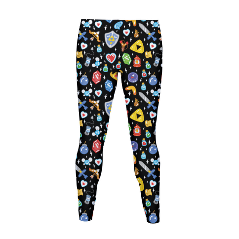Zelda Items Pattern Women's Legging