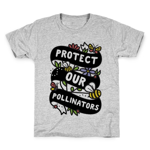 Protect Our Pollinators Kids T-Shirt