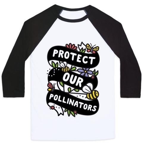 Protect Our Pollinators Baseball Tee