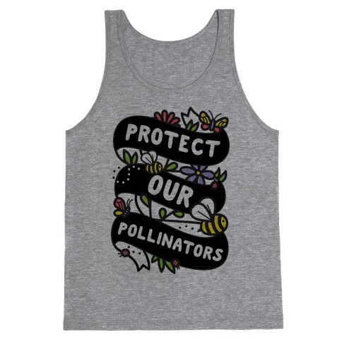 Protect Our Pollinators Tank Top