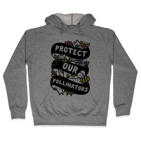Protect Our Pollinators Hooded Sweatshirt